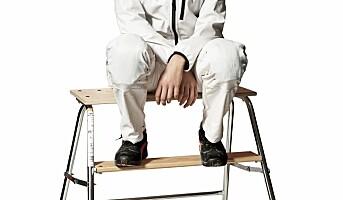 Hvitt arbeidstøy for malere