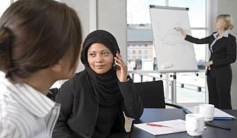 Innvandrere sliter mest på jobb