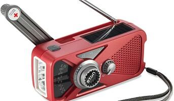 Oppladbar beredskapsradio