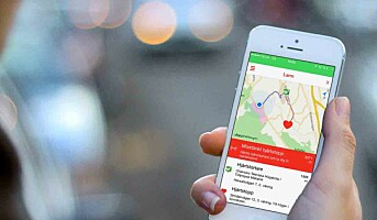 Ny norskutviklet mobilapp kan redde hundrevis av liv