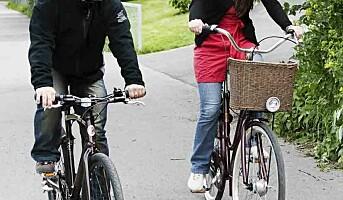Nå sykler vi snart til jobben igjen