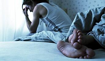 Jobbstress gir søvnproblemer
