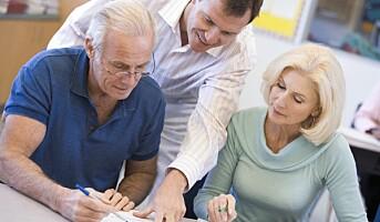 Seniorer vil jobbe lenger