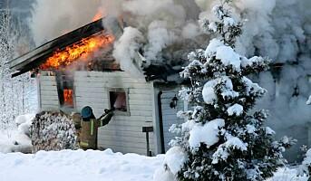 Erfarne brannmenn tåler mer varme
