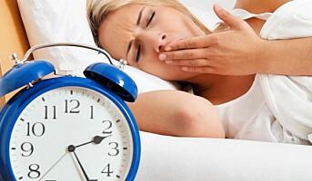 Ta søvnplager på alvor