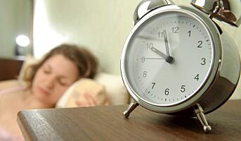 Søvnlengden påvirker sykefraværet