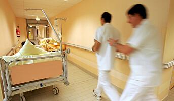 Forskere følger 600 sykepleiere på jobb