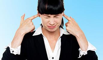 Hørselsskadde reagerer sterkere på støy