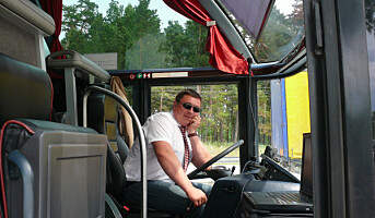 Hver tredje yrkessjåfør opplever stress
