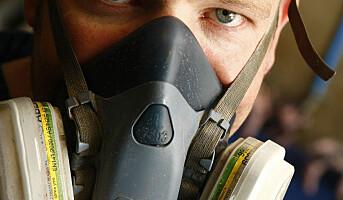 Mange bønder dropper støvmaske