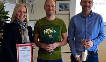 Tine Nord i Harstad tildelt HMS-pris