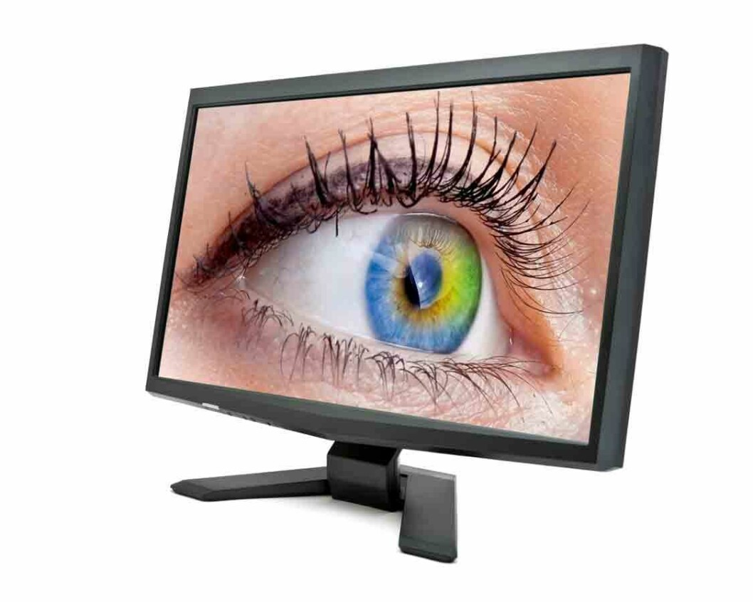 Øye-i-dataskjerm