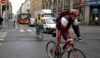 Unngå skader når du sykler til jobben