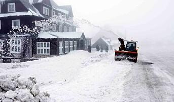 Danskene forbereder seg på såpeglatt vinter