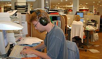 Vennlige mennesker forstyrres mest i kontorlandskap