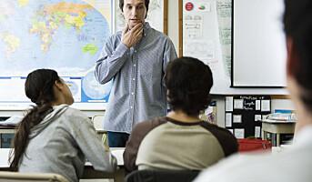 Lærerne rammes av tidsklemma