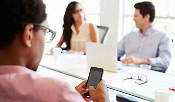 Mobilfrie møter gjør oss mer effektive på jobb