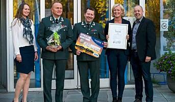 Årets IA-pris til Hæren
