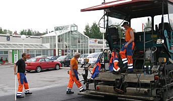 Dobbel straff for farlig kjøring ved veiarbeid