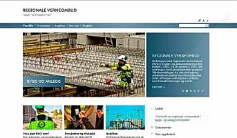 Regionale verneombud med egen nettside