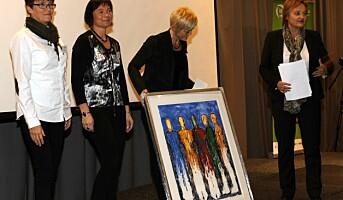 Seniorprisen 2011 til St. Olavs Hospital
