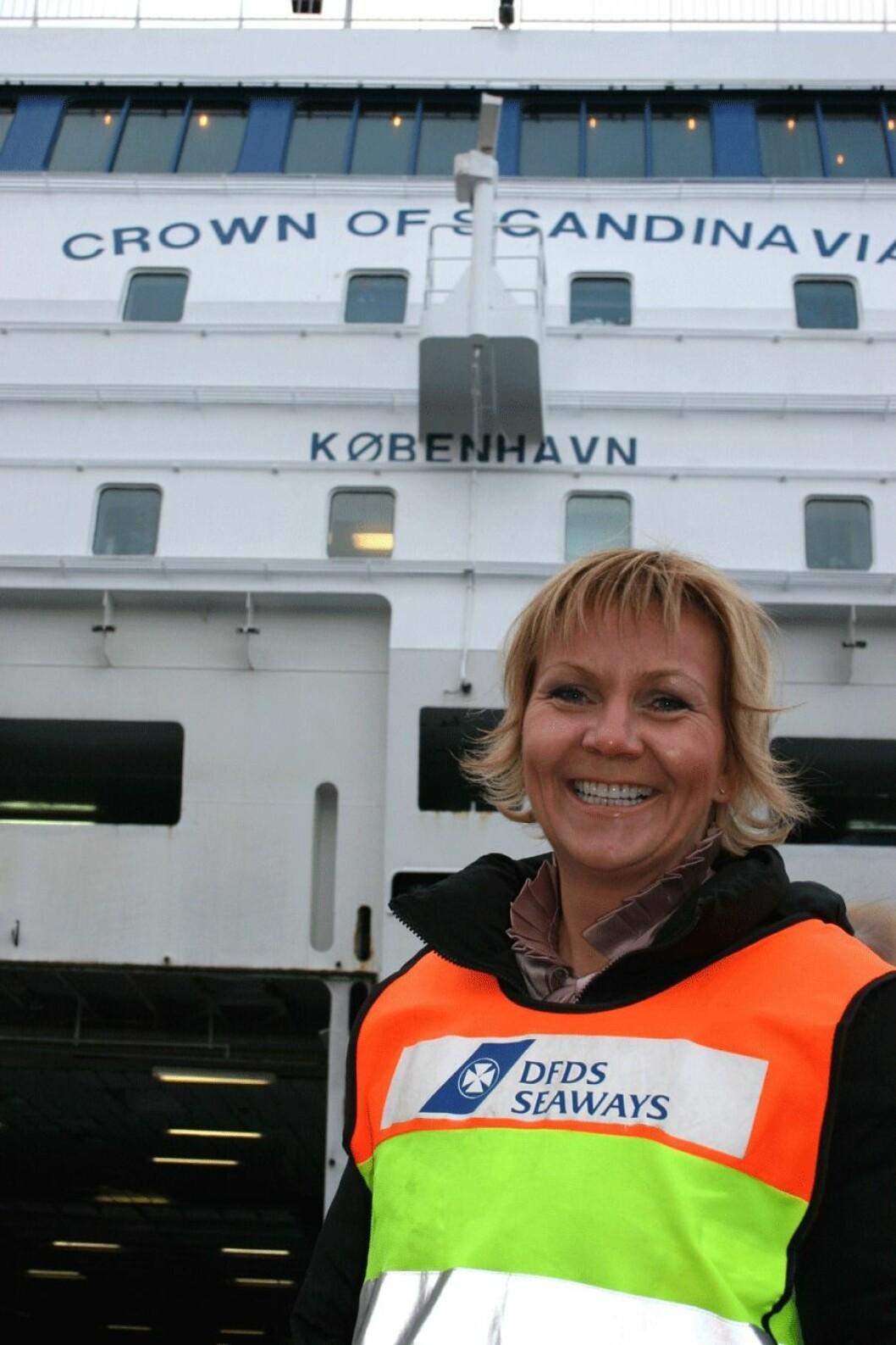 Vivian-Sivertsen-DFDS-Seawa