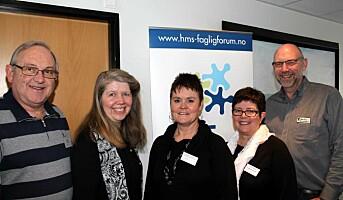 Årskonferanse i HMS-faglig forum