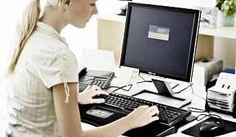 Tør ikke be om ergonomisk datautstyr