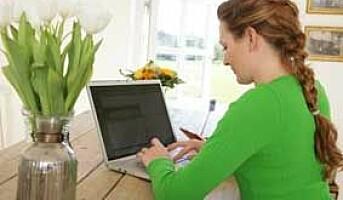 Tre av fire jobber bedre hjemmefra