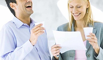 Få fram latteren på jobben