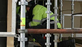 Ønsker nullvisjon på norske byggeplasser
