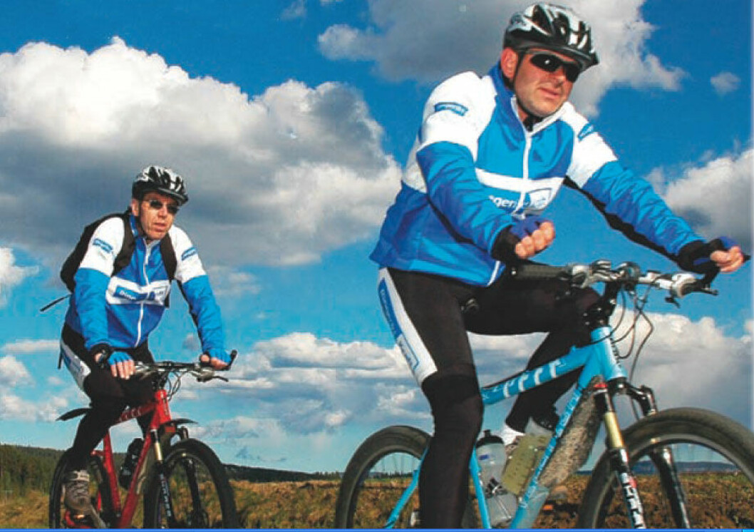 Sykkelprosjekt, Ringerikskraft
