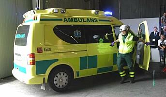 Ambulansearbeidere føler seg ikke verdsatte
