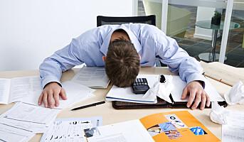 Når det blir for mye stress