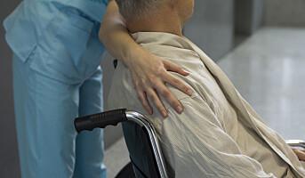 Helse- og omsorgsarbeidere har flest tunge løft
