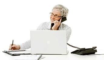 Eldre ansatte øker produktiviteten