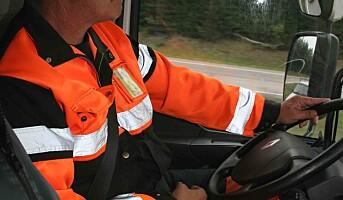 Flere lastebilsjåfører bruker bilbelte