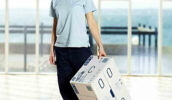 Ergonomisk emballasje for renholdere