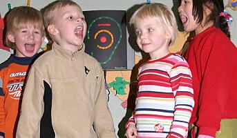 Barnehagebråk gir øresus