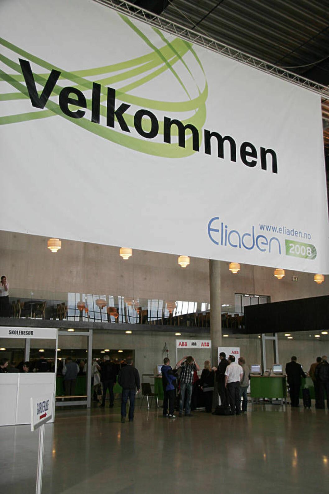 Eliaden 2008 inngang