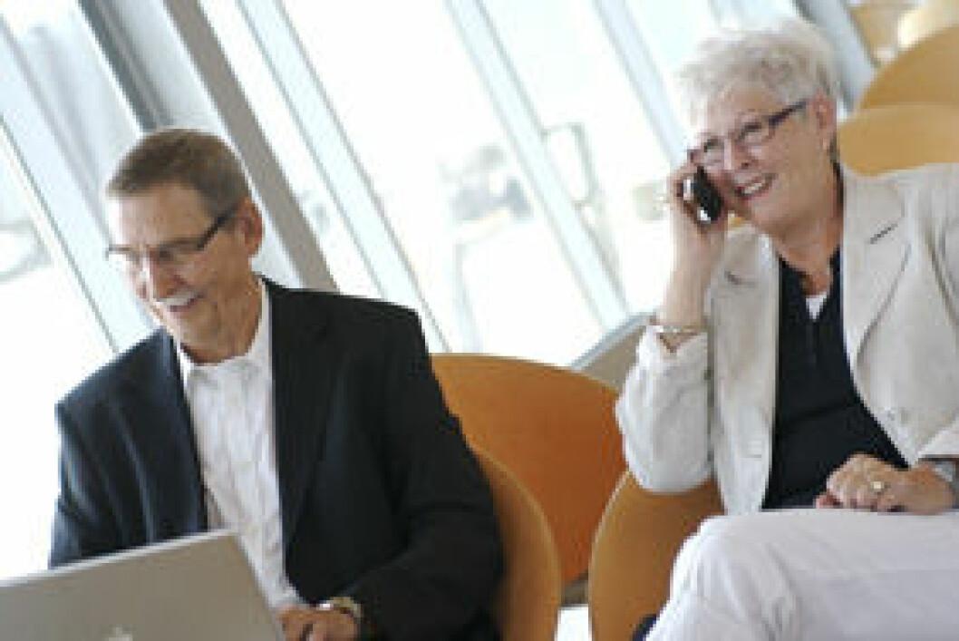50-åringene er vinnere på arbeidsmarkedet. (Illustrasjonsfoto: Colourbox.com)