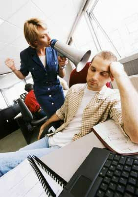 Trøtt på jobben