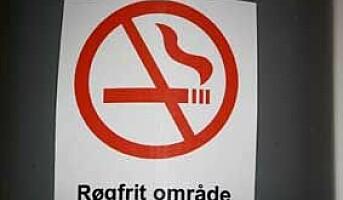 Røykeloven trer i kraft i Danmark