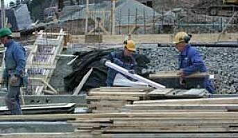 Færre skader seg på byggeplasser