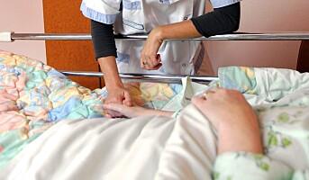 Helsepersonell på skadetoppen