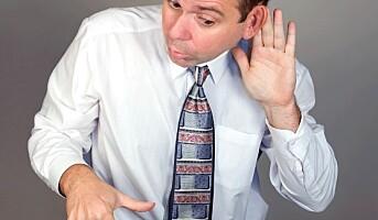 Tunghørte blir raskere slitne på jobben