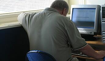 Overvektige skader seg oftere på jobb
