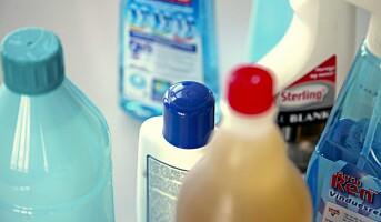 Få oversikt over kjemikaliene