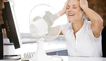 Danskene svetter og fryser på jobben