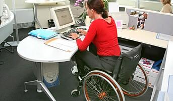 Flere funksjonshemmede i arbeid